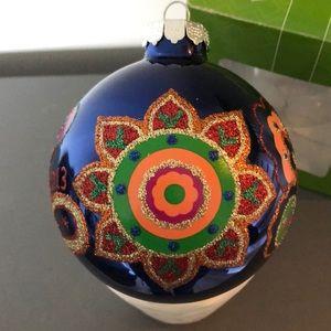 Vera Bradley Venetian Paisley Holiday Ornament NWT